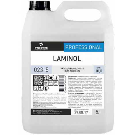 Низкопенный концентрат для мойки паркета и ламината - Pro-Brite Laminol 5л