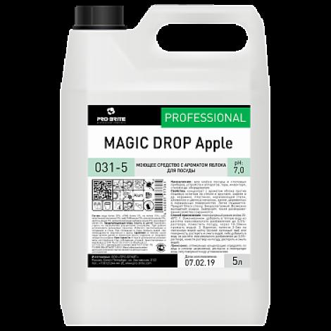 Средство с ароматом яблока для мойки посуды - Pro-Brite Magic Drop Apple 5л