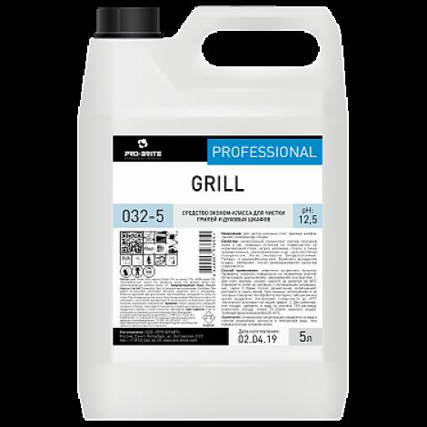 Средство эконом-класса для чистки грилей и духовых шкафов - Pro-Brite Grill 5л