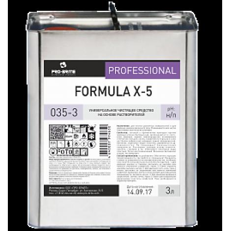 Жидкое средство-растворитель для удаления клея, наклеек, скотча - Pro-Brite Formula X-5 3л