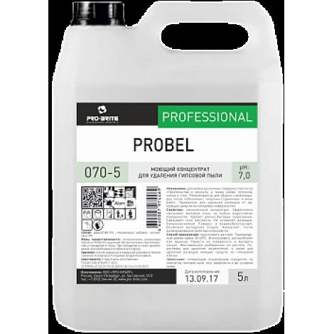 Моющий концентрат для удаления гипсовой пыли - Pro-Brite Probel 5л