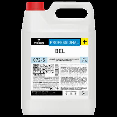 Моющий концентрат с содержанием хлора для осветления посуды - Pro-Brite Bel 5л