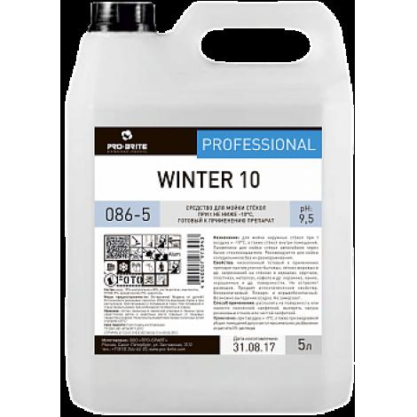 Средство для мойки стёкол при температурах не ниже -10°С - Pro-Brite Winter 10 5л
