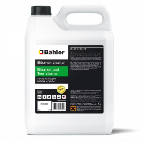 Средство для удаления следов битума и смолы, готовое к применению - BAHLER Bitumen und Teer cleaner  BTC-100 3л