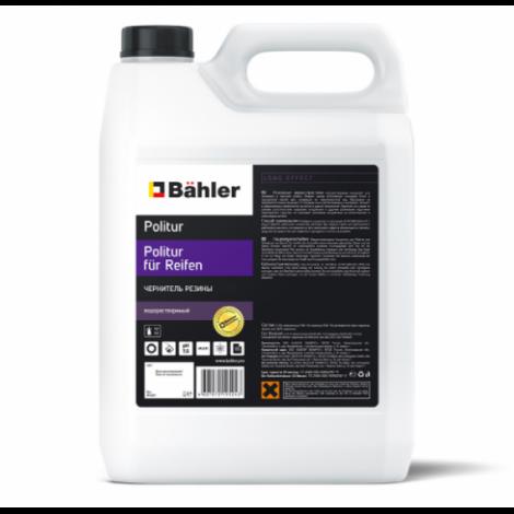 Чернитель резины водорастворимый, концентрат - BAHLER Politur für Reifen PR-104 5л