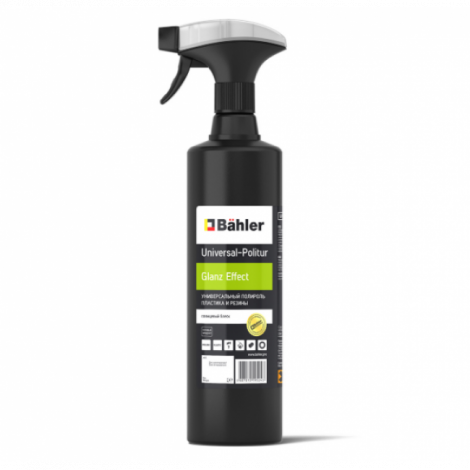Универсальный полироль пластика и резины (глянцевый блеск) - BAHLER Universal-Politur UP-100 Glanz Effect 1л