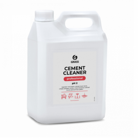 Средство для очистки после ремонта - GRASS Cement Cleaner 5л