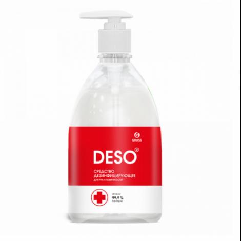 Антисептик для рук на основе ЧАС - GRASS DESO  500мл