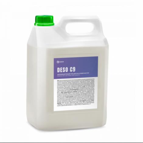 Дезинфицирующее средство на основе изопропилового спирта - GRASS DESO C9 гель 5л