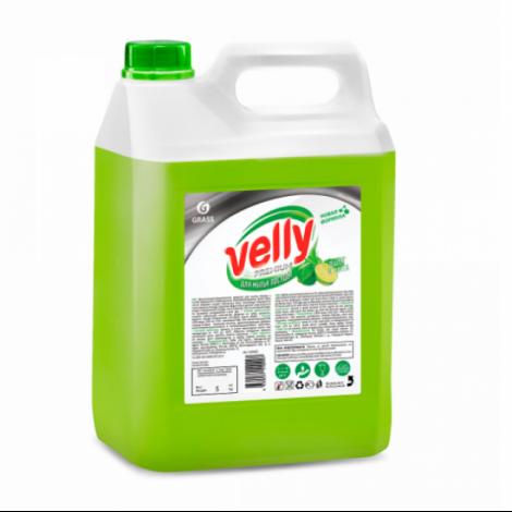 Средство для мытья посуды - GRASS Velly Premium лайм и мята 5л