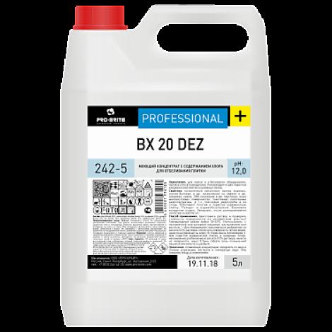 Моющий концентрат с содержанием хлора для отбеливания плитки - Pro-Brite BX 20 Dez 5л