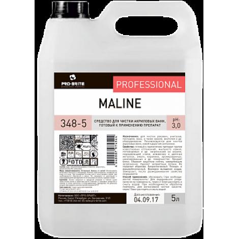 Средство для чистки акриловых ванн - Pro-Brite Maline 5л