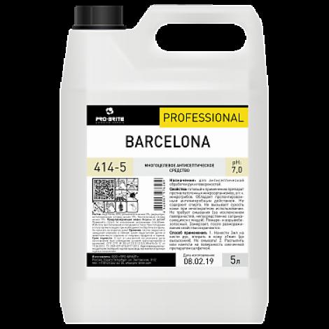 Антисептик для рук на основе ЧАС, моющее средство - Pro-Brite Barcelona 5л