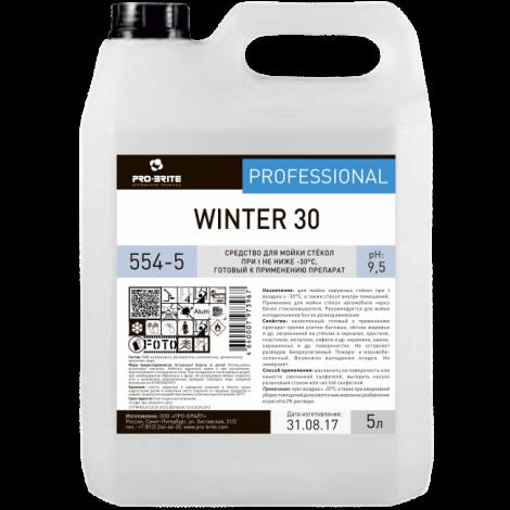 Средство для мойки стёкол при температурах не ниже -30°С - Pro-Brite Winter 30 5л