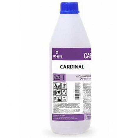 Ковровый шампунь с замедлителем повторного загрязнения - Pro-Brite Cardinal 1л