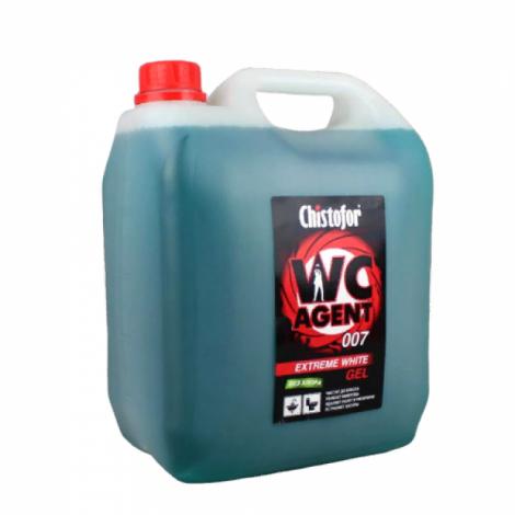 Кислотное универсальное моющее средство - Chistofor WC Agent 007 Extreme White (без хлора) 5л