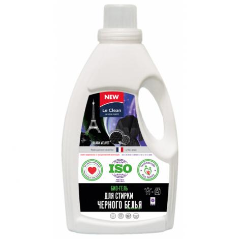 Средство для ручной и машинной стирки, жидкое, для черного - Le Clean LESSIVE 950мл