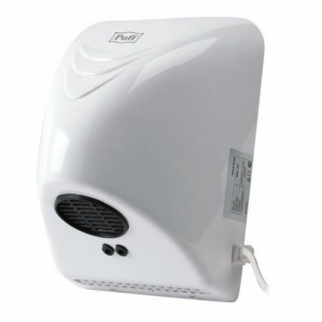 Сушилка для рук PUFF-8814, 800 Вт, пластик, белая