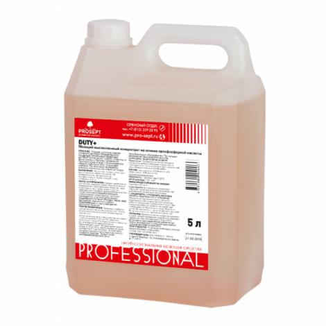 Высокопенное средство на основе ортофосфорной кислоты - Prosept Duty + 5л