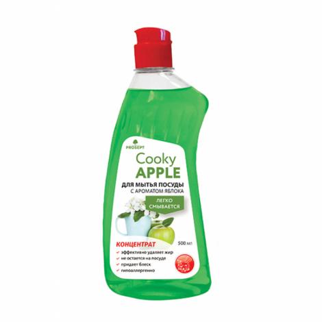 Гель для мытья посуды вручную с ароматом яблока - Prosept Cooky Apple 500мл