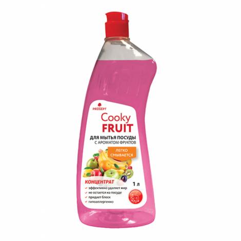 Гель для мытья посуды вручную с ароматом фруктов - Prosept Cooky Fruit 1л