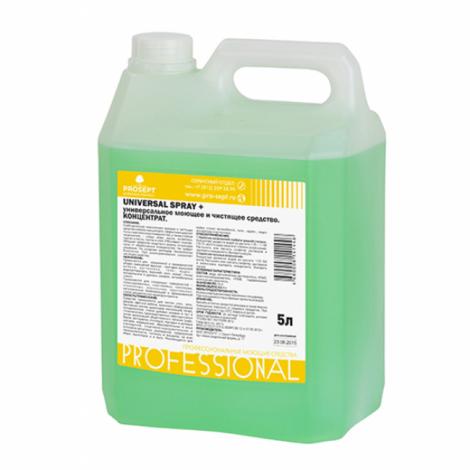 универсальное моющее и чистящее средство. Концентрат - Prosept Universal Spray+ 5л