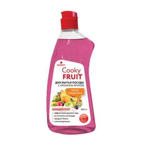 Гель для мытья посуды вручную с ароматом фруктов - Prosept Cooky Fruit 500мл
