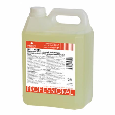 Средство для мытья фасадов и дорожных покрытий - Prosept Duty Hard + 5л