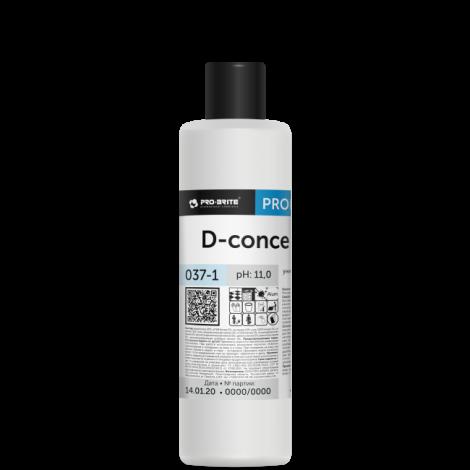 Моющий концентрат для ежедневной и генеральной уборки - Pro-Brite D-Concentrate 1л