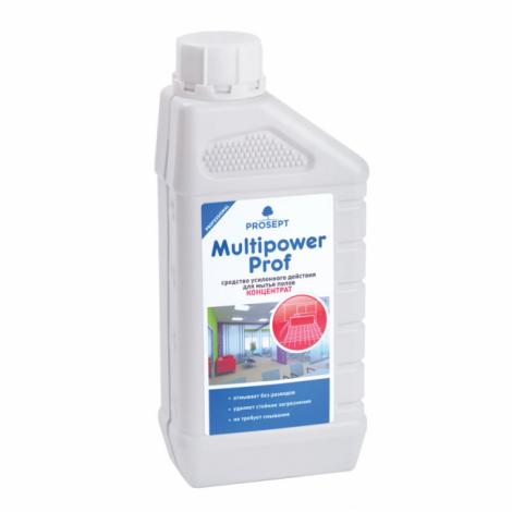 Средство усиленного действия для мытья всех типов полов - Prosept Multipower Prof 1л