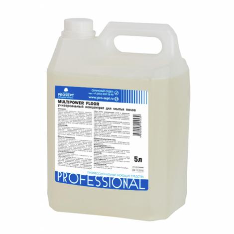 Универсальный концентрат для мытья полов - Prosept Multipower FLOOR 5л