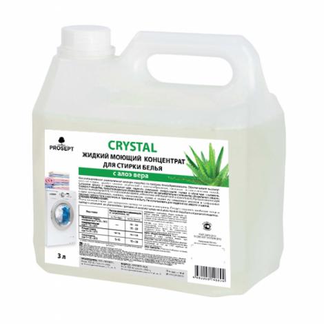 Жидкий моющий концентрат для стирки белья - Prosept Crystal с ароматом Алоэ вера 3л