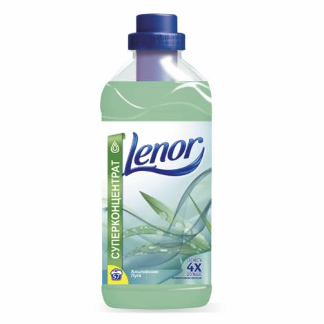 """Кондиционер-ополаскиватель для белья 2 л, LENOR (Ленор) """"Альпийские луга"""""""