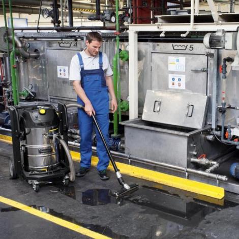 Компактный промышленный пылесос - Karcher IVC 60/12-1 Tact ECКомпактный промышленный пылесос
