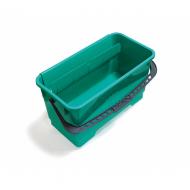 Ведро полипропиленовое, с ручкой, 20 литров, зеленое - TTS