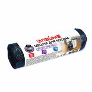 Мешки для мусора 30 л, черные в рулоне 20 шт., ПВД, 20 мкм, 50х60 см (±5%), особо прочные, ЛАЙМА