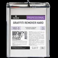 Усиленное жидкое средство для удаления граффити - Pro-Brite Graffiti Remover Hard 3л
