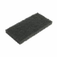 ПАД абразивный, черный, 15х25 см - FIBRATESCO