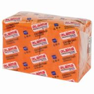 """Салфетки бумажные 400 шт., 24х24 см, LAIMA, """"Big Pack"""", оранжевые (интенсив), 100% целлюлоза"""