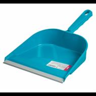 Совок для мусора 23 см, с резиновой кромкой, пластик, ассорти - YORK