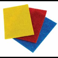 Салфетки абразивные, 13х9х0,5 см, комплект 3 шт., для удаления стойких загрязнений - ЛАЙМА