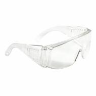 Очки защитные, открытого типа, прозрачные, ударопрочный поликарбонат