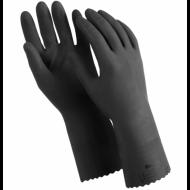 """Перчатки латексные, 1 пара, двухслойные, размер XL, черные - MANIPULA """"КЩС-1"""""""