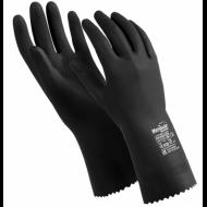 """Перчатки латексные, 1 пара, ультратонкие, размер M, черные - MANIPULA """"КЩС-2"""""""