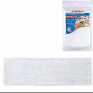 Насадка МОП плоская для швабры/держателя 40 см, карманы (ТИП К), микрофибра, упаковка - ЛАЙМА