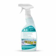 Моющее средство для стекол, зеркал и кафельной плитки - GRASS А3 600мл
