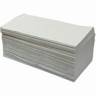 Полотенца бумажные 1-слойные. V-сложения, 250 листов, комплект 20 шт.