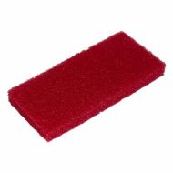 ПАД абразивный, красный, 15х25 см - FIBRATESCO