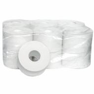 Туалетная бумага 200 м, эконом, втулка, 12 шт. в пачке