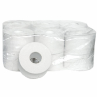Туалетная бумага 180 м, эконом, втулка, 12 шт. в пачке